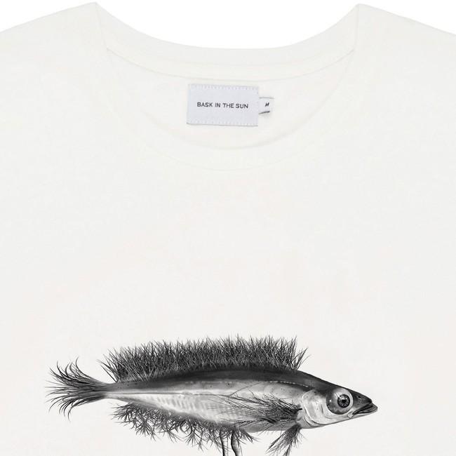 T-shirt en coton bio natural hybrid fish - Bask in the Sun num 1