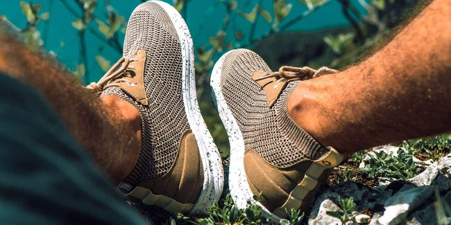Chaussures recyclées mindo fossil - Saola num 1