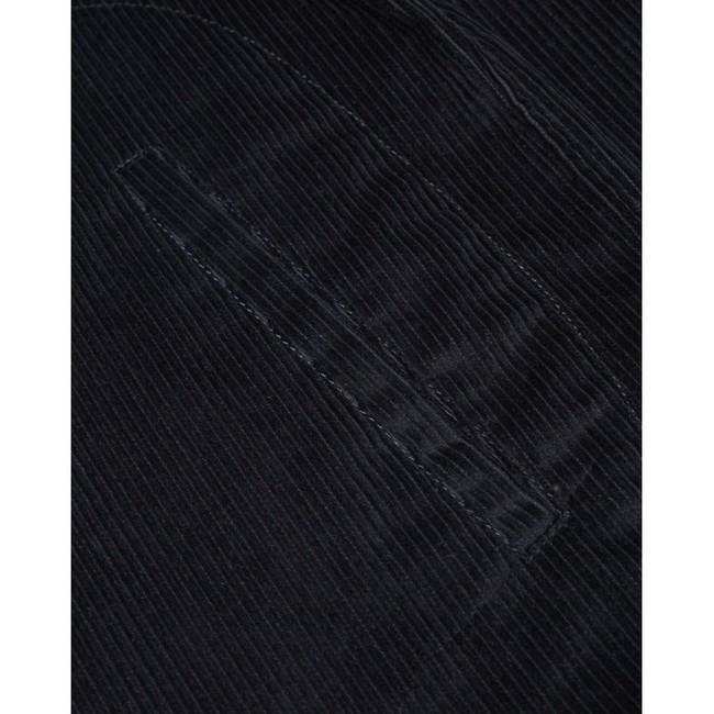 Veste marine velours en coton bio - Knowledge Cotton Apparel num 2