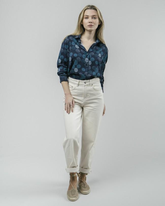 Hana bloom printed blouse - Brava Fabrics num 3