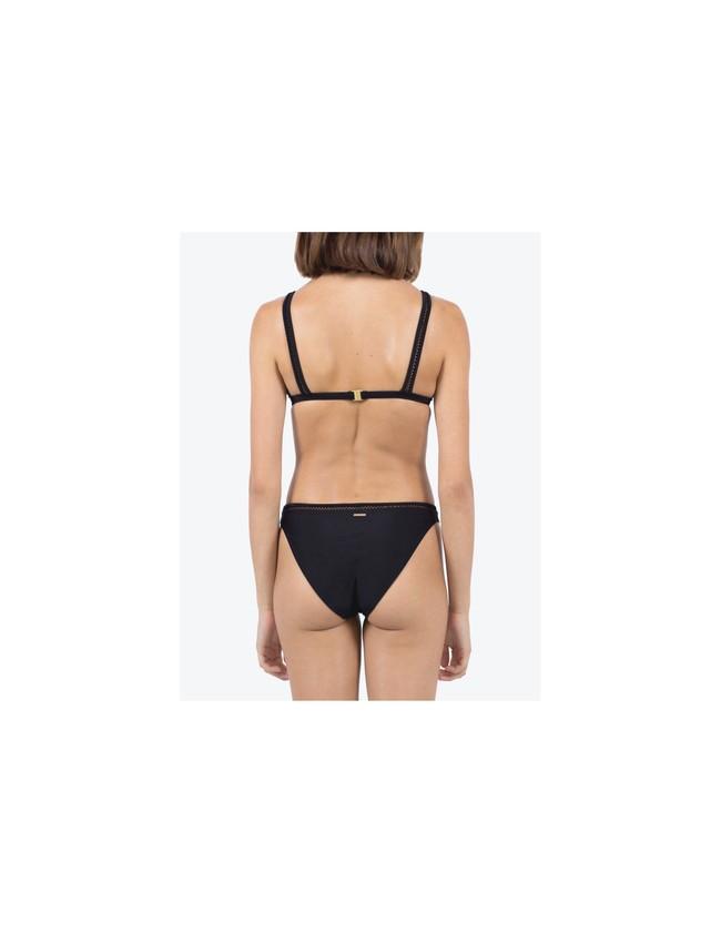 Bas de bikini en nylon recyclé - black - Reset Priority num 1