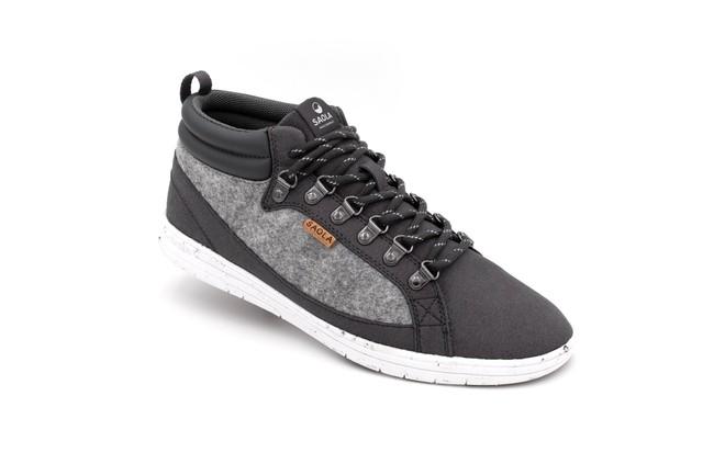 Chaussures recyclées baikal dark grey - Saola num 1