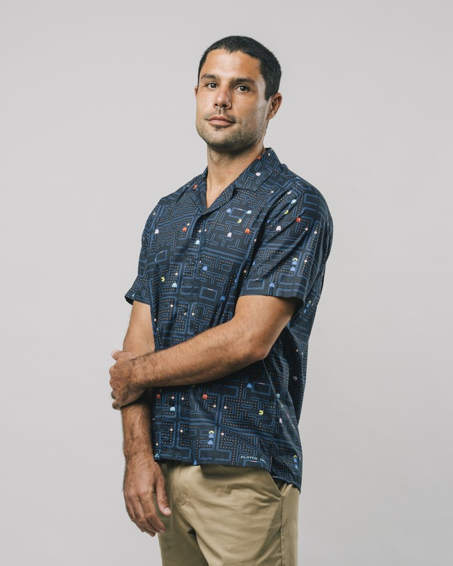Maze pac-man™ x brava aloha shirt - Brava Fabrics