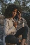 Manteau emma beige en laine - Maison People - 1