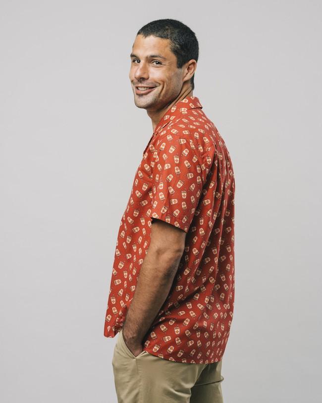 Curry to go printed shirt - Brava Fabrics num 5