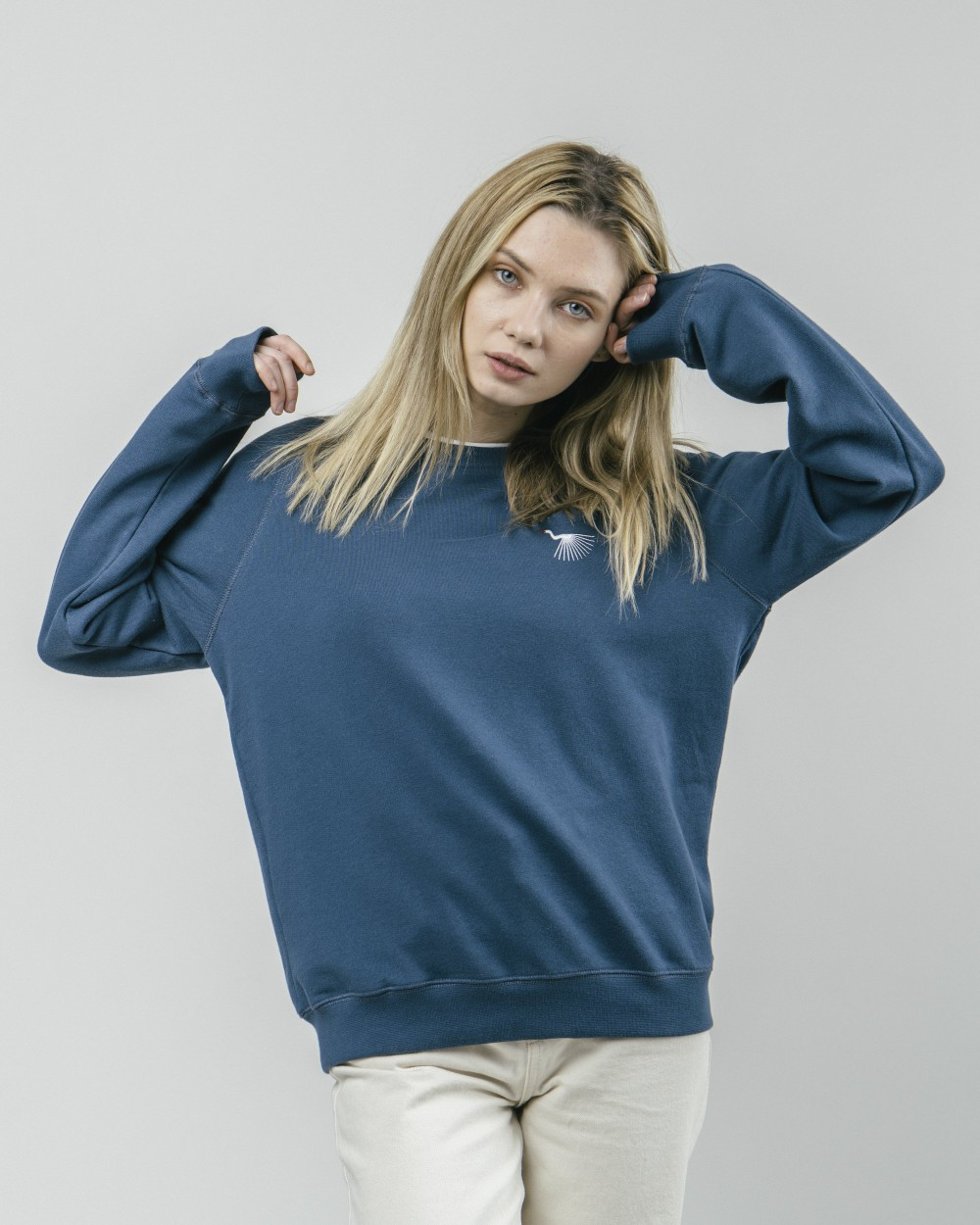 Japanese sky sweatshirt - Brava Fabrics