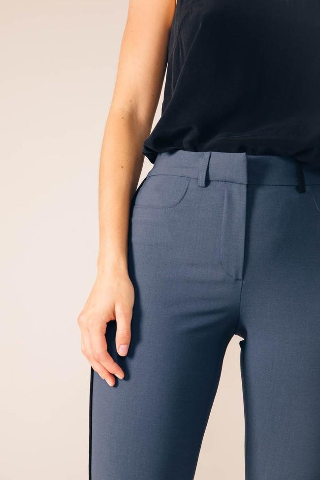Pantalon tailleur new-york pétrole - 17h10 num 1