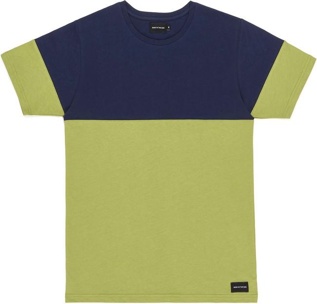 T-shirt en coton bio olive teofilo - Bask in the Sun