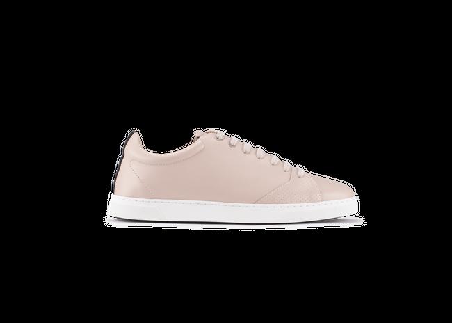 Chaussure en gravière cuir nude / semelle blanc - Oth num 3