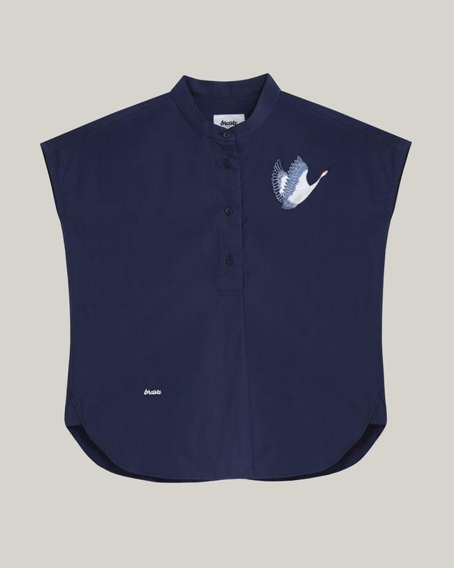 Crane for luck essential blouse - Brava Fabrics num 1