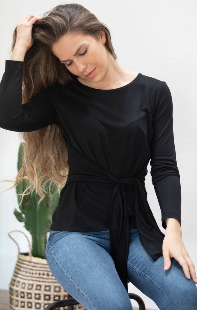Top gardenia noir - Avani