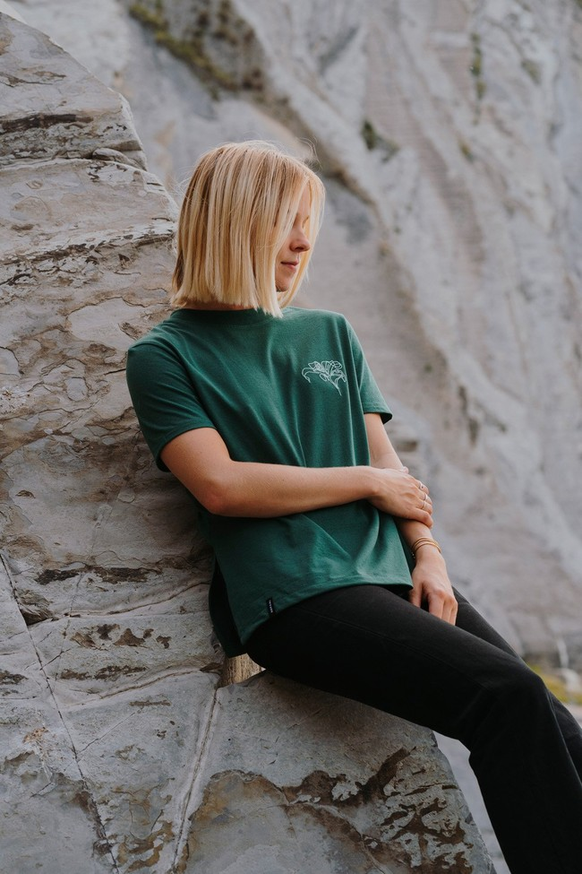 T-shirt recyclé - pure forest - Hopaal num 3
