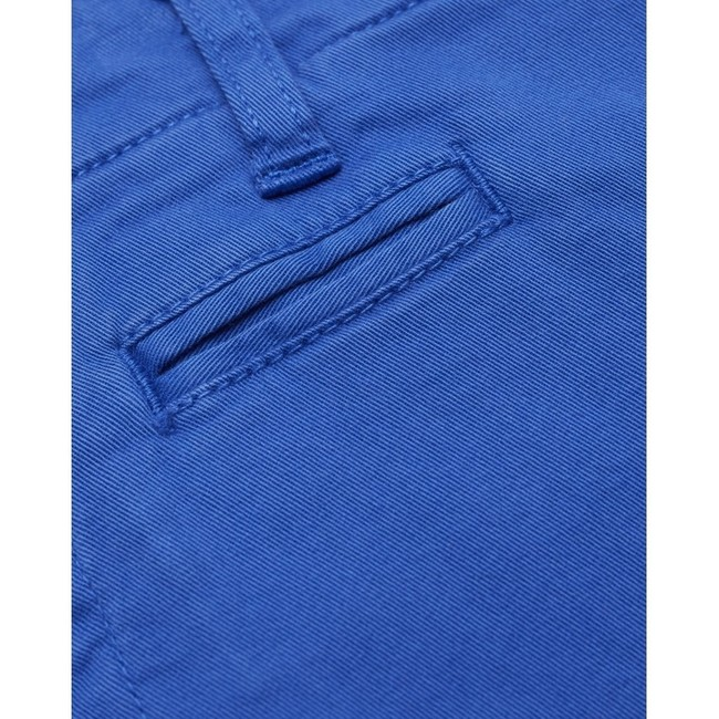 Short chino droit bleu en coton bio - chuck - Knowledge Cotton Apparel num 3