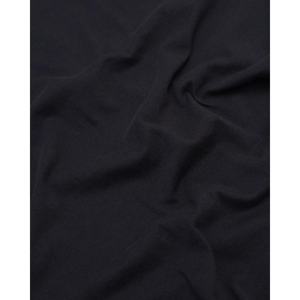 T-shirt bleu nuit en coton bio - Knowledge Cotton Apparel num 2
