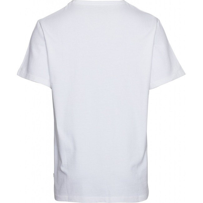 T-shirt ample blanc en coton bio - Knowledge Cotton Apparel num 1