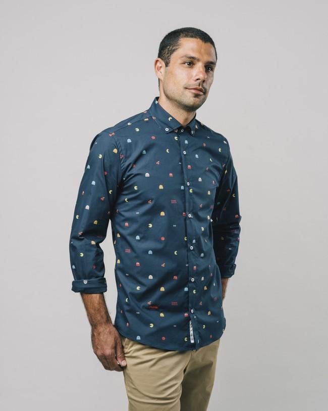 Printed shirt pac-man™ x brava - Brava Fabrics