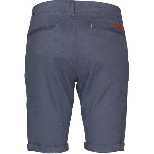 Short chino bleu en coton bio - Knowledge Cotton Apparel num 1