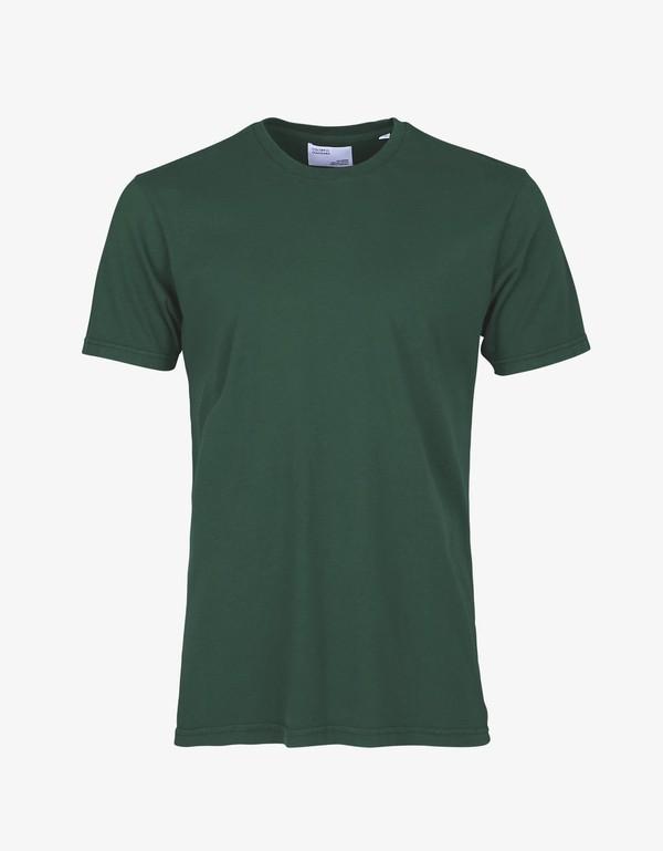 T-shirt kaki en coton bio - dusty olive - Colorful Standard