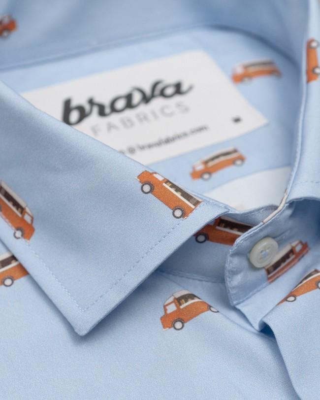Foodtruck printed shirt - Brava Fabrics num 1