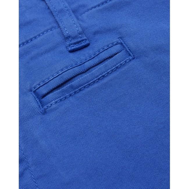 Short chino droit bleu en coton bio - chuck - Knowledge Cotton Apparel num 3