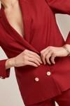Veste tailleur boston coquelicot - 17h10 - 4