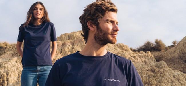 T-shirt recyclé - édition navy - Hopaal num 4