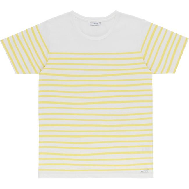 T-shirt en coton bio yellow esperanza - Bask in the Sun