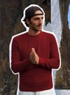 Le jacques rouge cerise - Au Juste - 1