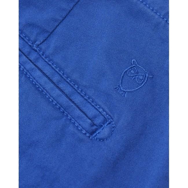 Short chino droit bleu en coton bio - chuck - Knowledge Cotton Apparel num 2