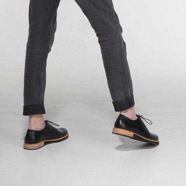 Derbies alpha low - noir - Subtle num 3