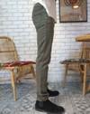 Pantalon droit 5 poches homme zanzibar, tencel et coton récyclé kaki - Aatise - 2