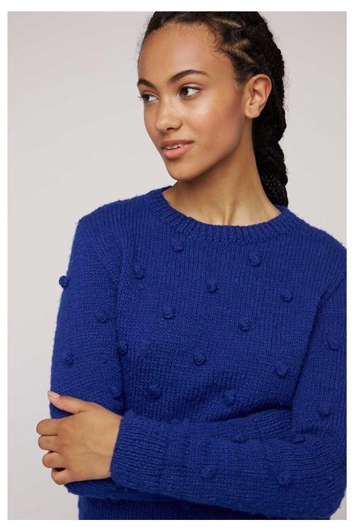 Pull bleu en laine - gigi - People Tree