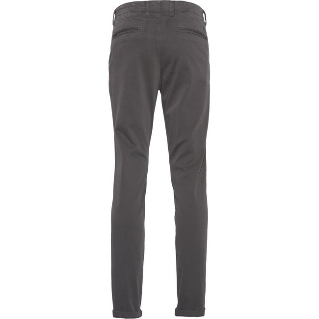 Chino slim gris en coton bio - joe - Knowledge Cotton Apparel num 1