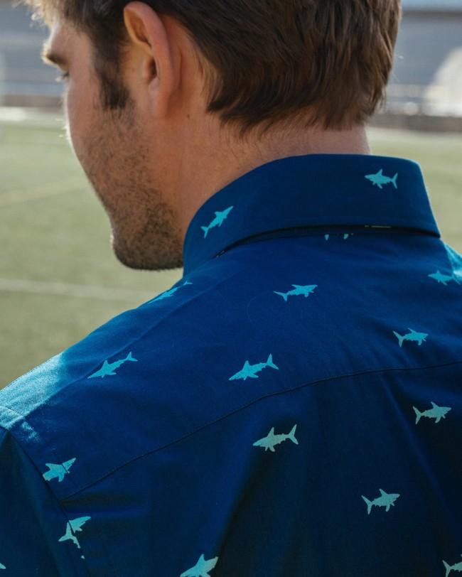 Sharks printed shirt - Brava Fabrics num 6