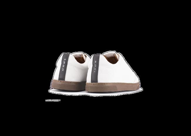 Chaussure en gravière suède off-white / semelle cappuccino - Oth num 2