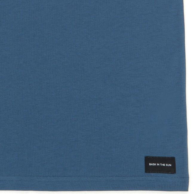T-shirt en coton bio blue to the sea - Bask in the Sun num 3