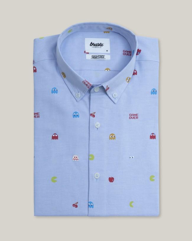 Oxford-shirt pac-man™ x brava - Brava Fabrics num 1