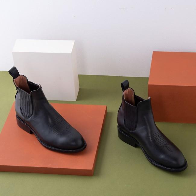 Carlos charro boot black - Cano num 1