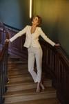Pantalon tailleur new-york ivoire - 17h10 - 2