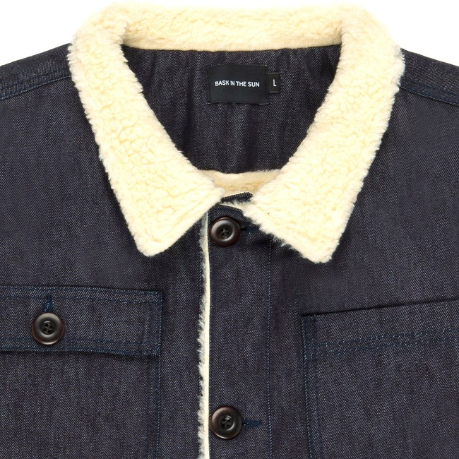 Veste en coton bio denim dachi - Bask in the Sun num 1