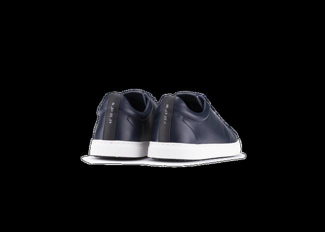 Chaussure semelle pneu recyclé cuir navy - gravière - Oth num 2