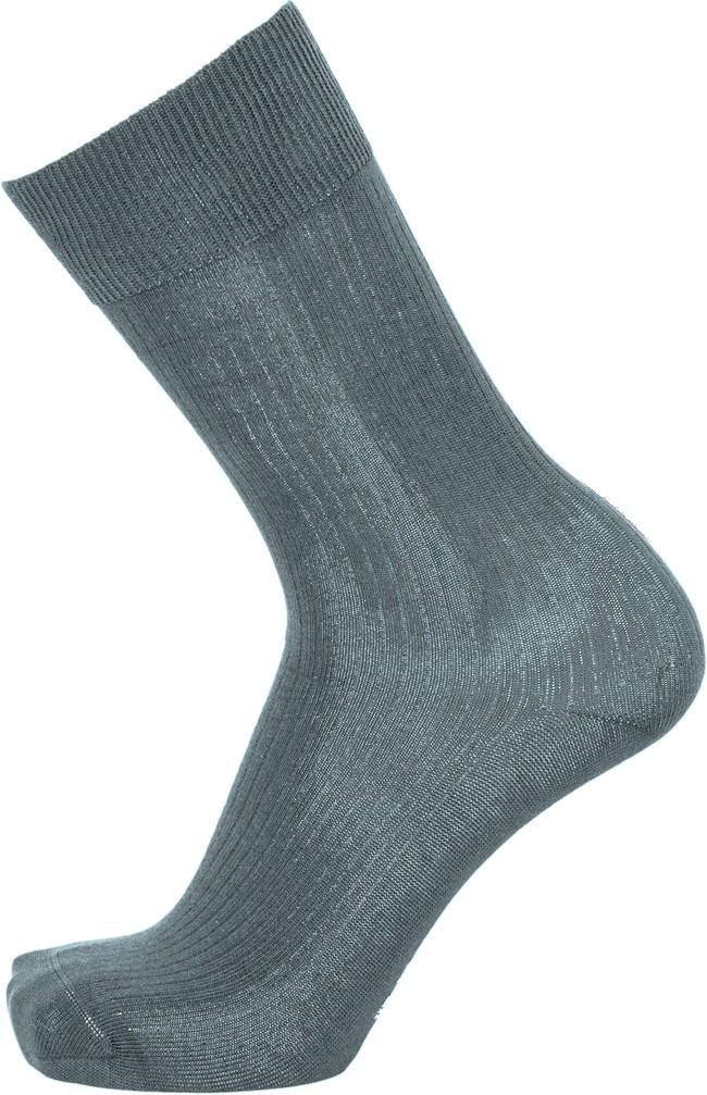 Pack 2 paires de chaussettes hautes bleu océan et bleu marine en coton bio - timber - Knowledge Cotton Apparel