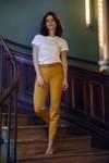 Pantalon tailleur new-york jaune safran - 17h10 - 1