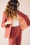 Veste tailleur boston rose brique - 17h10 - 2
