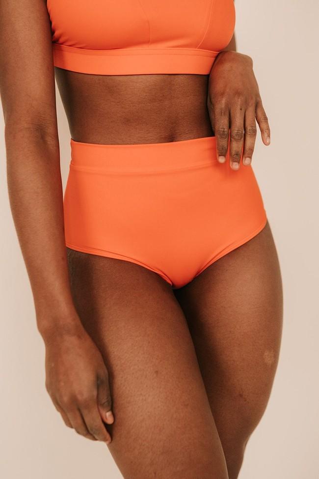 Piha Beach - le bas - orange ethnico - Maline num 5