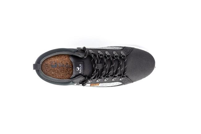Chaussures recyclées baikal dark grey - Saola num 2