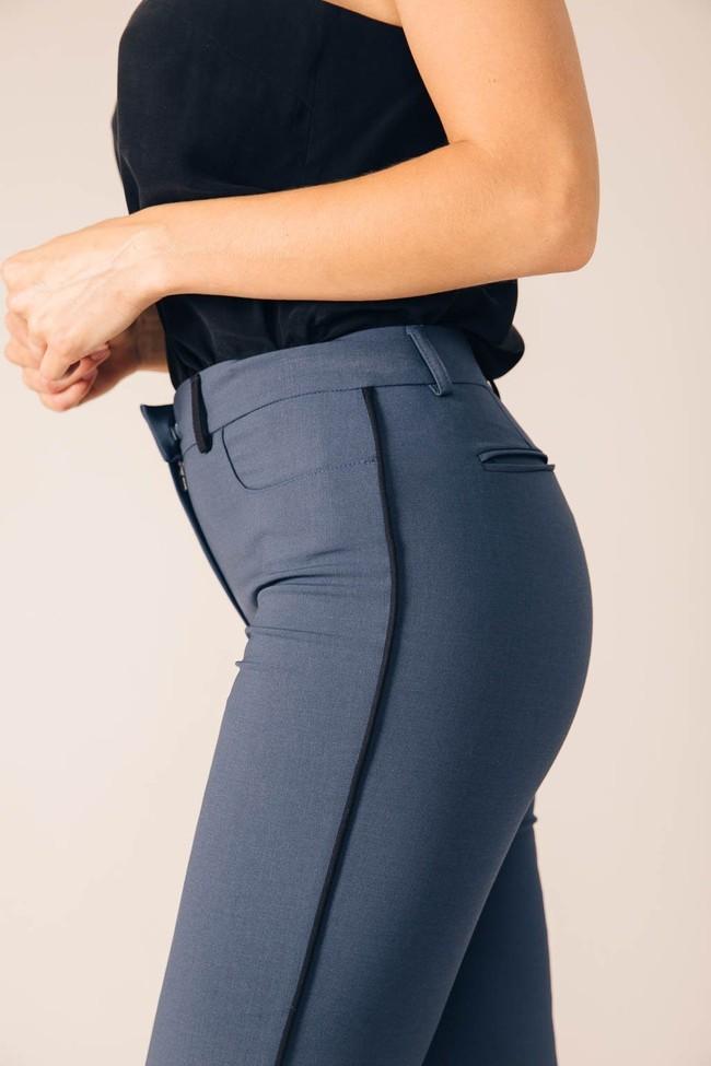 Pantalon tailleur new-york pétrole - 17h10