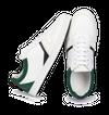 Chaussure en glencoe cuir blanc / suède sapin - O.T.A - 2