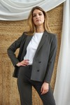 Veste tailleur boston taupe - 17h10 - 4