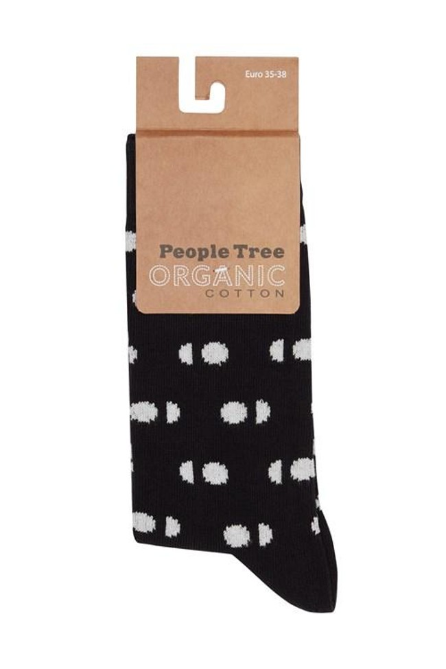 Pack 3 paires de chaussettes en coton bio - cat - People Tree num 1